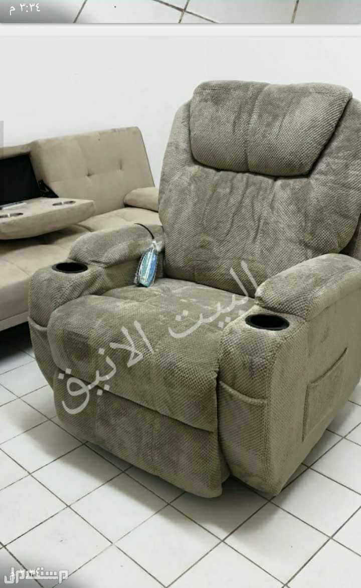 كرسي،مساج وهزاز طبي،جديد بالكرتون