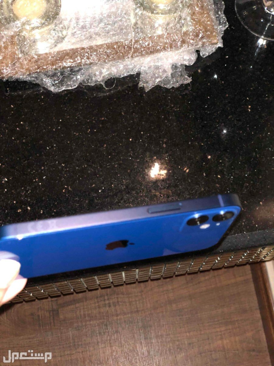 ايفون 12 ميني 128 جيجا جديد لون ازرق