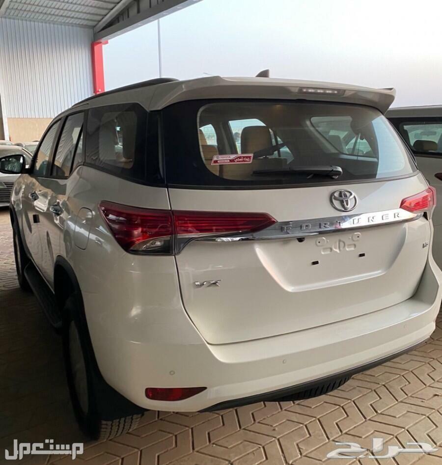 تويوتا فورتشنر في اكس1بنزين6سلندر2021 جديدة للبيع