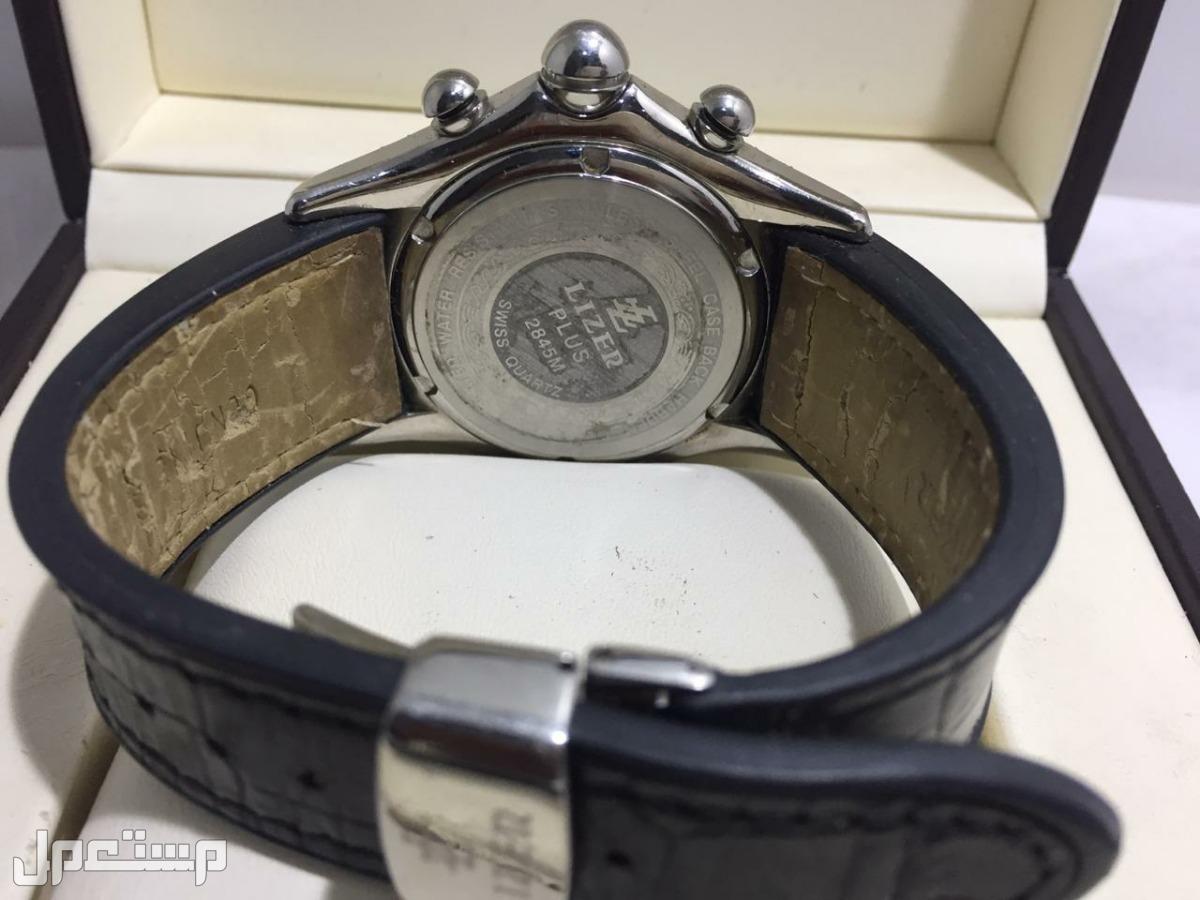 ساعة ليزر  LIZER القبة  رجاليه سويسرية اصلية