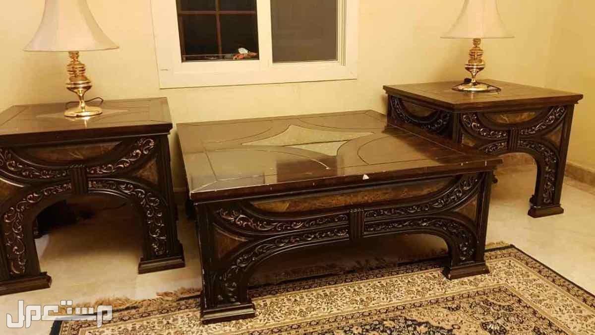 طاولات معيشة