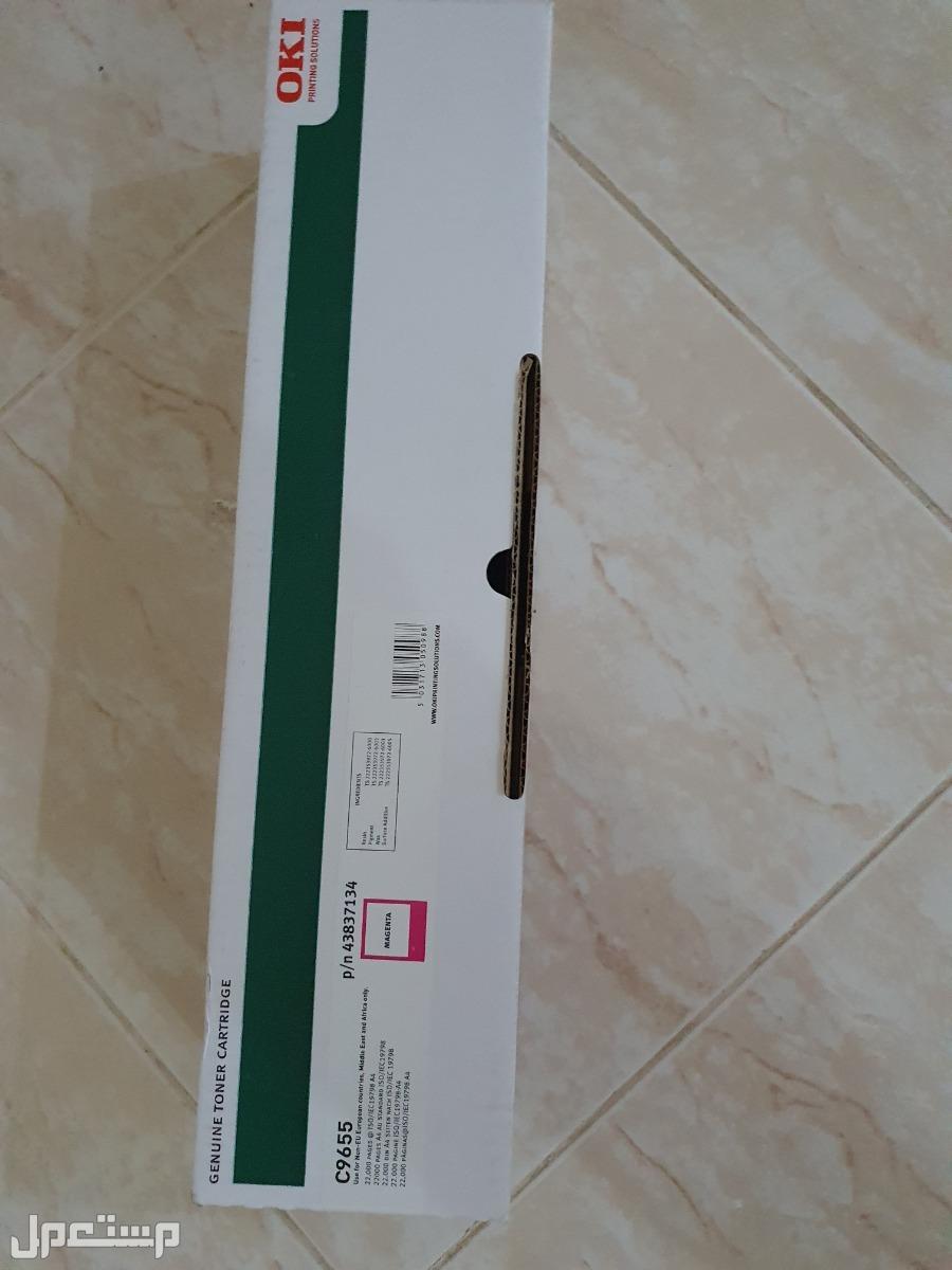 للبيع احبار OKI c6955 كمية محدودة لون magenta