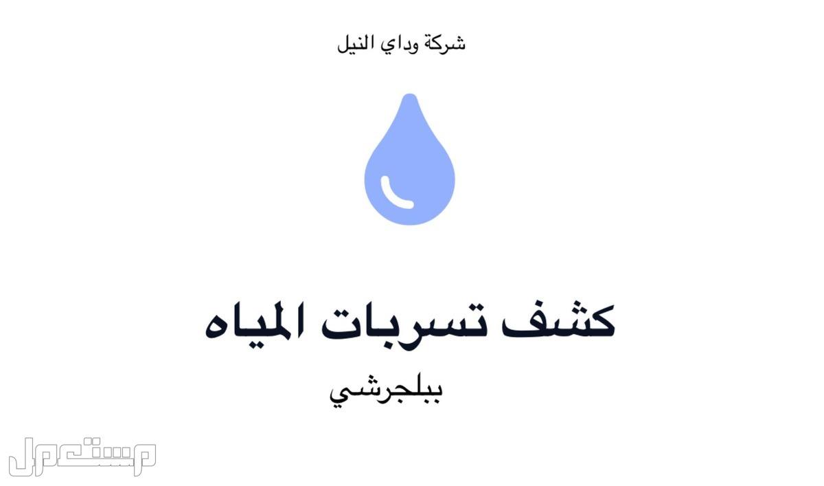شركة كشف تسربات المياه بالمدينة