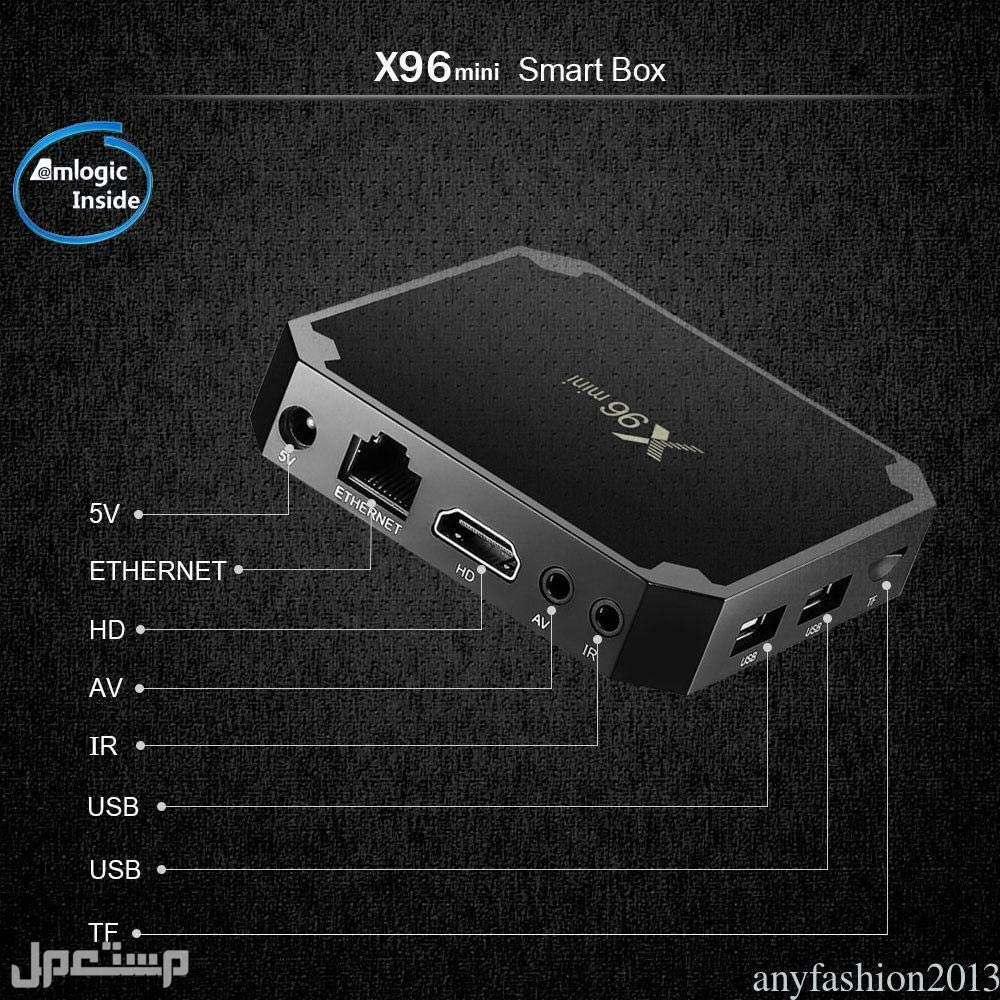 رسيفر اندرويد لتحويل شاشة التليفزيون إلى شاشه ذكيه  96X mini tv box