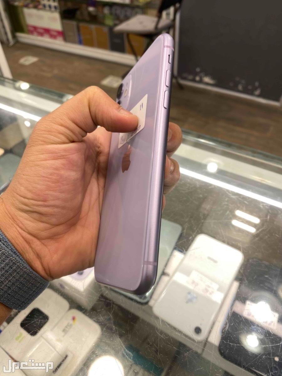 للبيع ايفون 11 موف 64 مستخدم