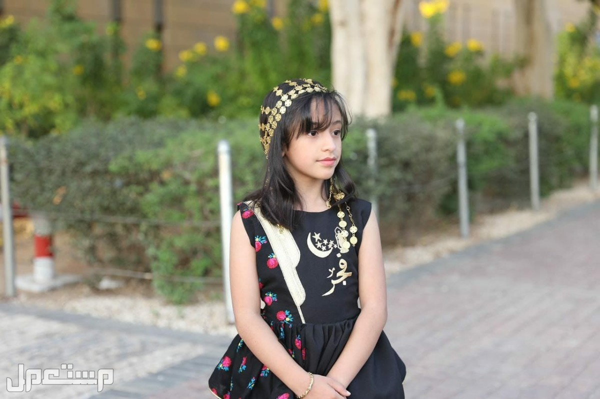 ميزي ابنتك # فساتين رمضان والعيد مع تطريز الاسم حسب الرغبة