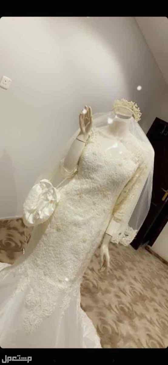 فستان زفاف جديد للبيع