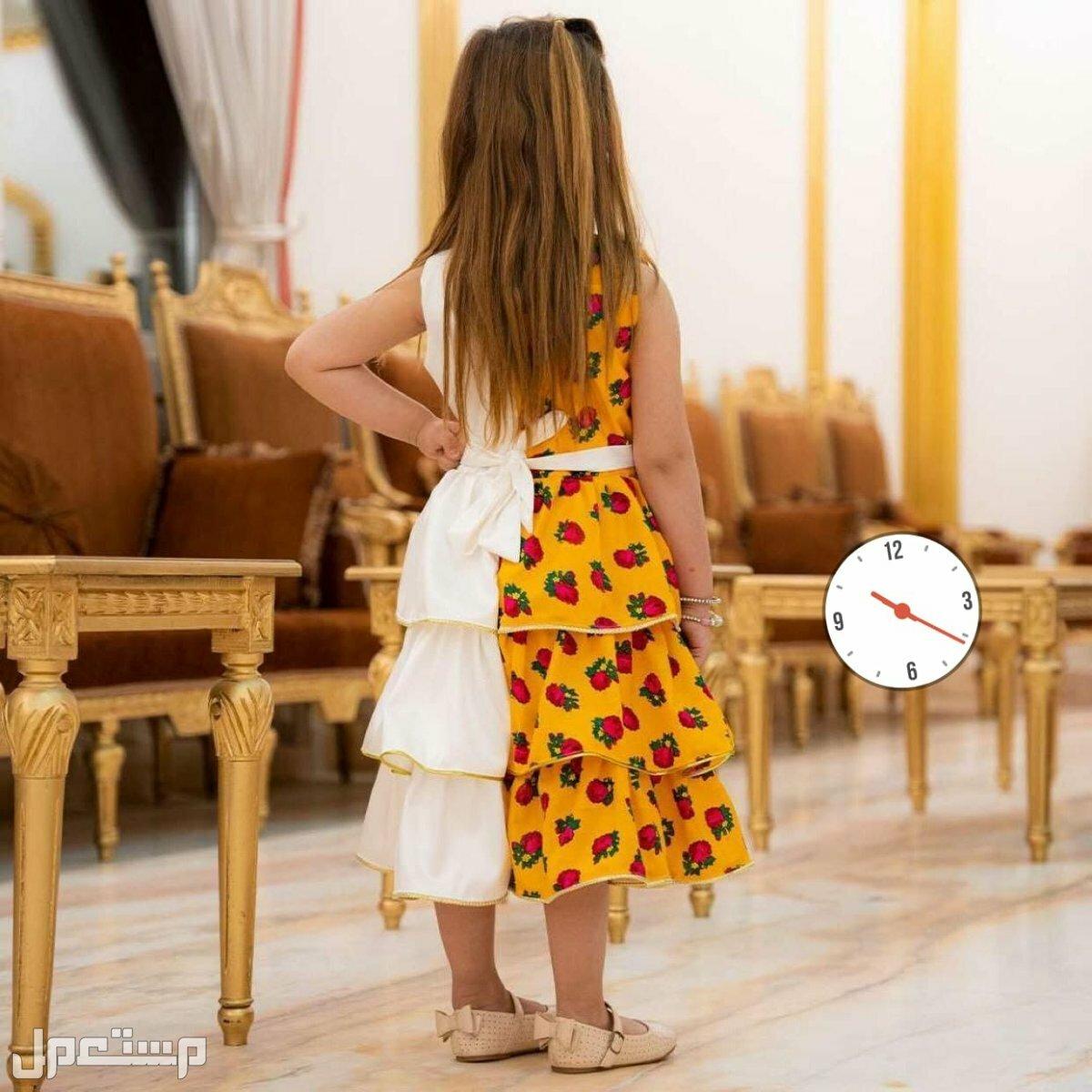كولكشن رمضان والعيد # فساتين بناتي بالاسم تطريز فاخر