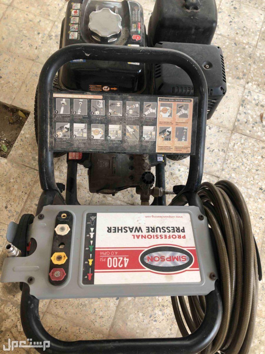 مكينة ضخ مياه ضغط عالي تعمل بالبنزين