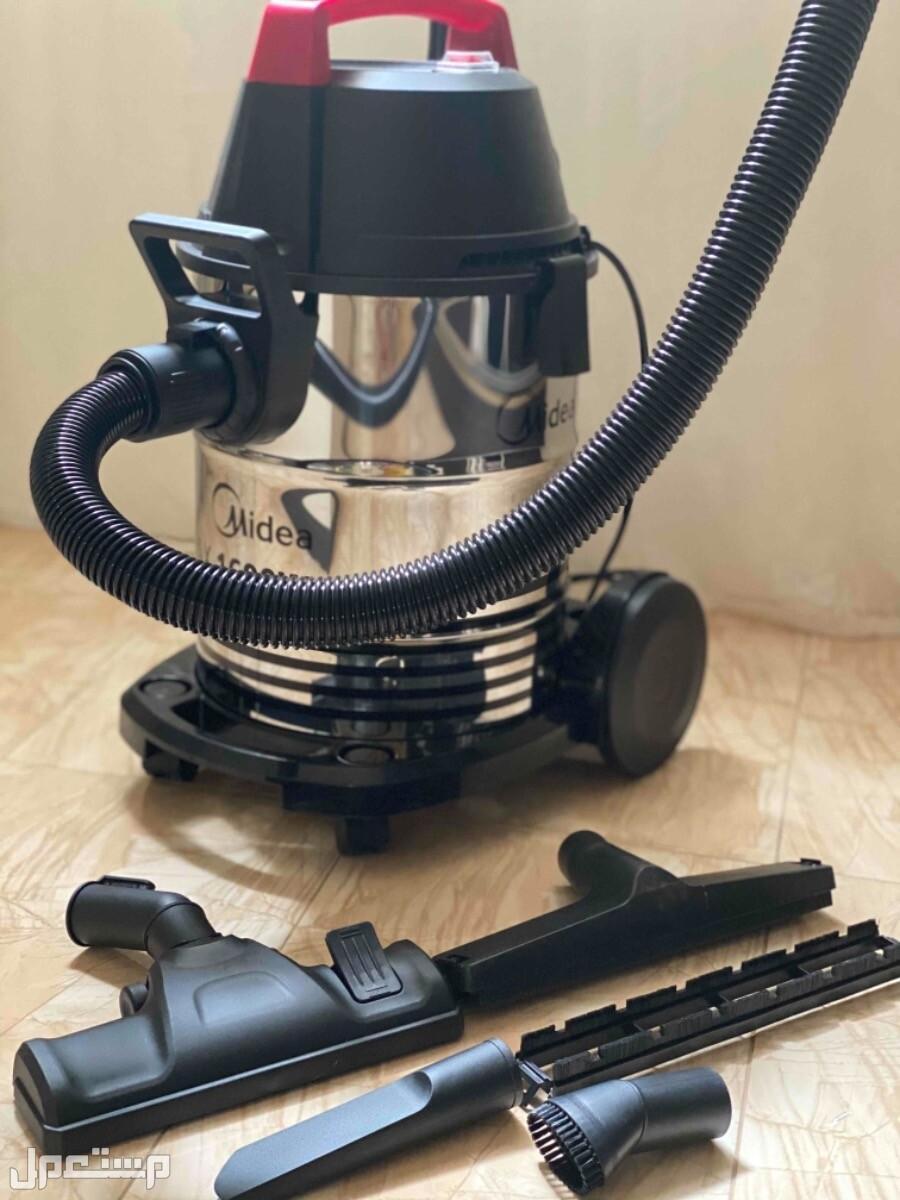 مكنسة كهربائية للتنظيف الجاف والرطب