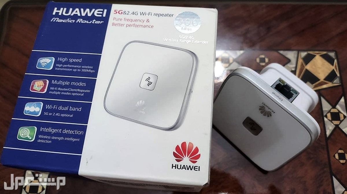 مقوي اشارة شبكة واي فاي هواوي Huawei wifi