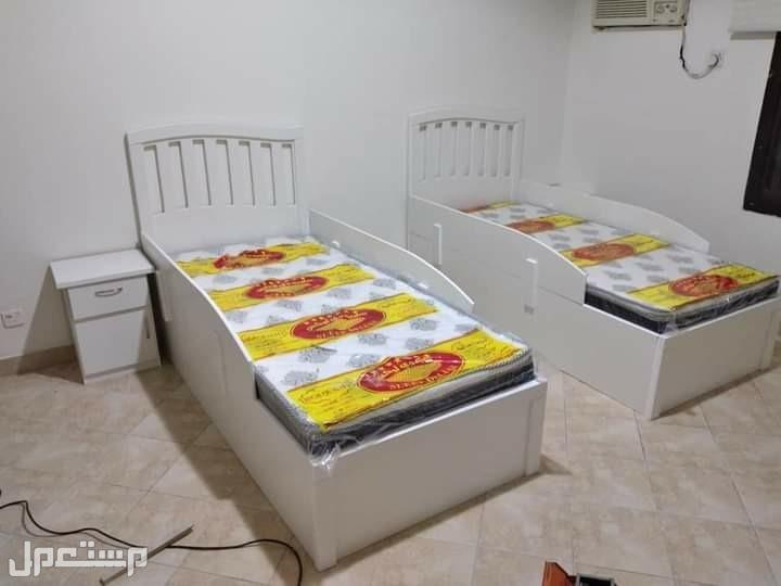 غرف نوم نفرين جديده بسعر 1500 ريال شامل التوصيل والتركيب