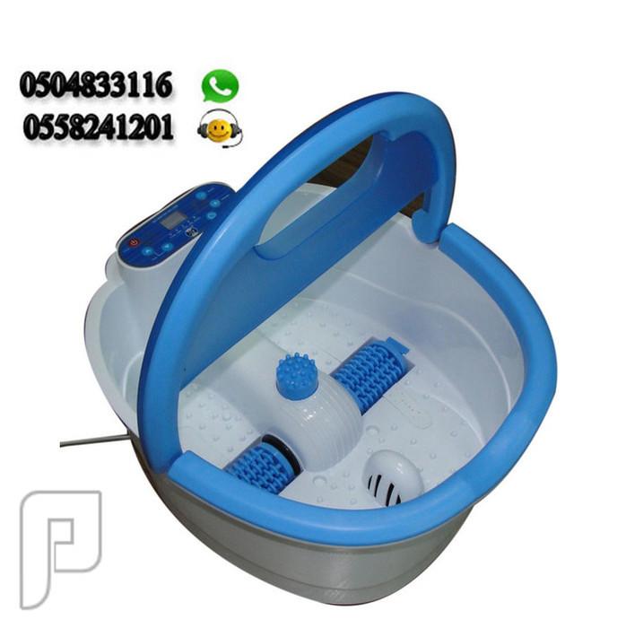 جهاز تدليك الأقدام عن طريق ضخ الماء الدافئ و البكرات الدوارة جهاز تدليك الأقدام عن طريق ضخ الماء الدافئ و البكرات الدوارة