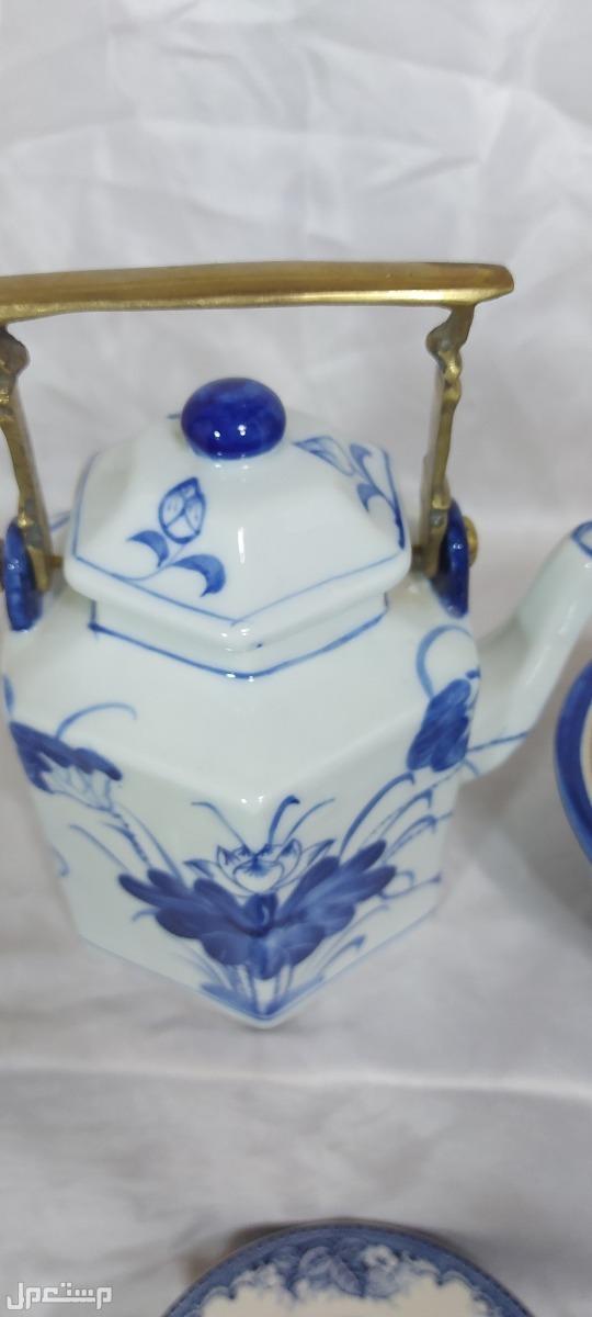 لمحبي الزعيم طقم شاي صيني فاخر لعشاق النوادر