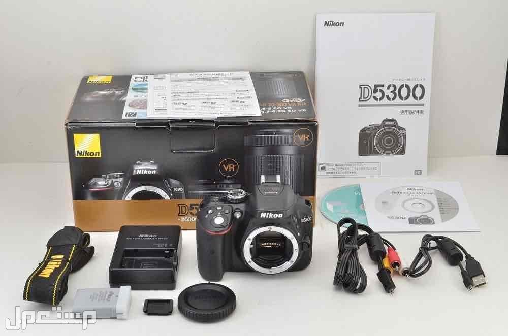 كاميرا نيكون 5300D جديد