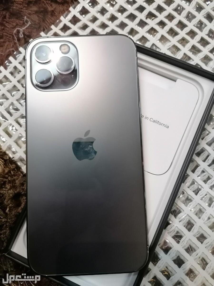 أبل ايفون 12 pro مستعمل نظيف
