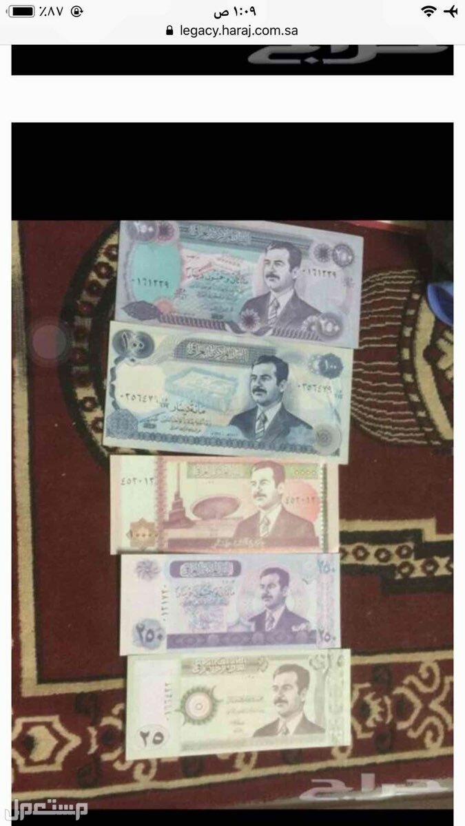 طقم عملات صدام حسين