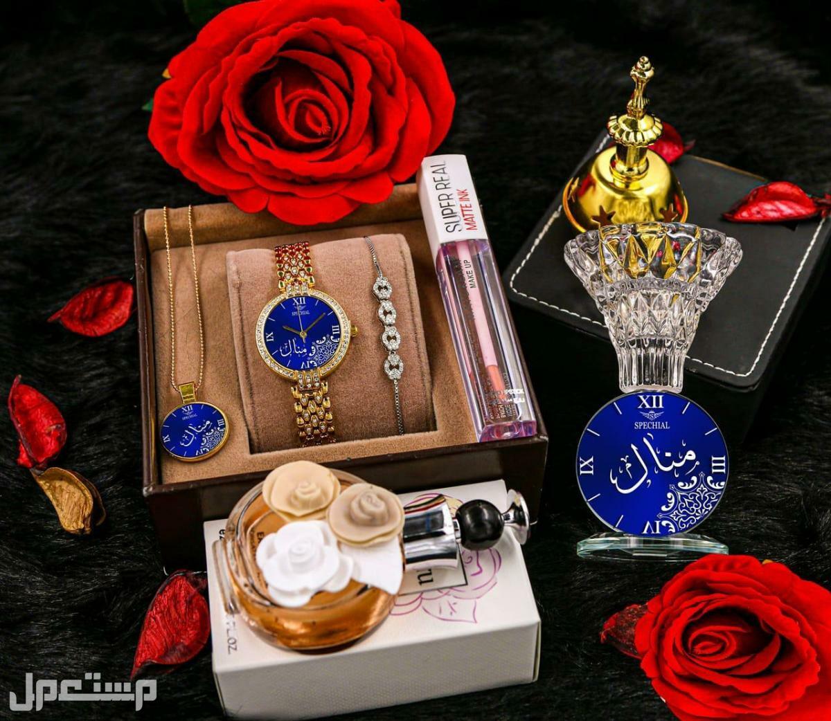 اطقم ساعات وهدايا نسائية باسم من تحب