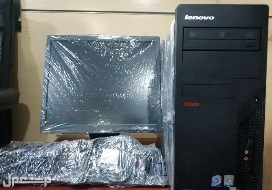 كمبيوتر مكتبي لينوفو بسعر 450 ريال