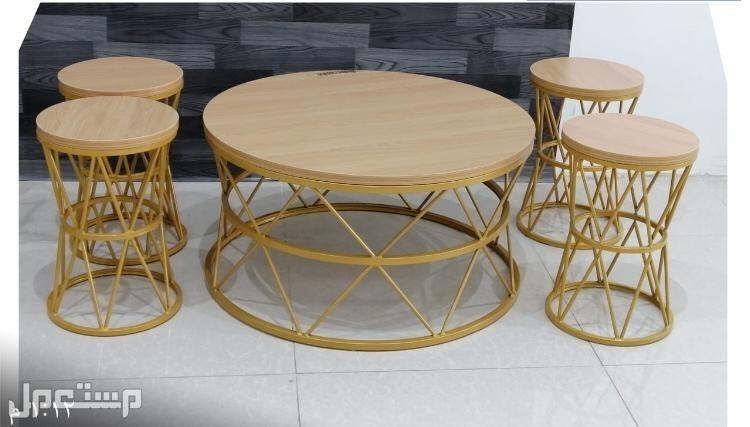 طاولات كنب صطحية خشب