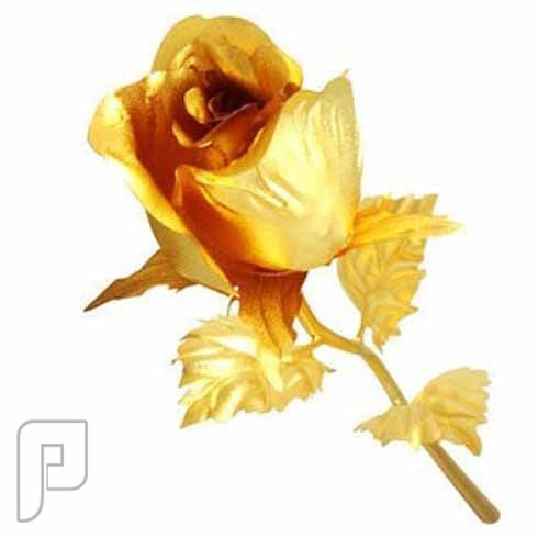 هدية وردة ذهبية على شكل برعم من الذهب التايواني