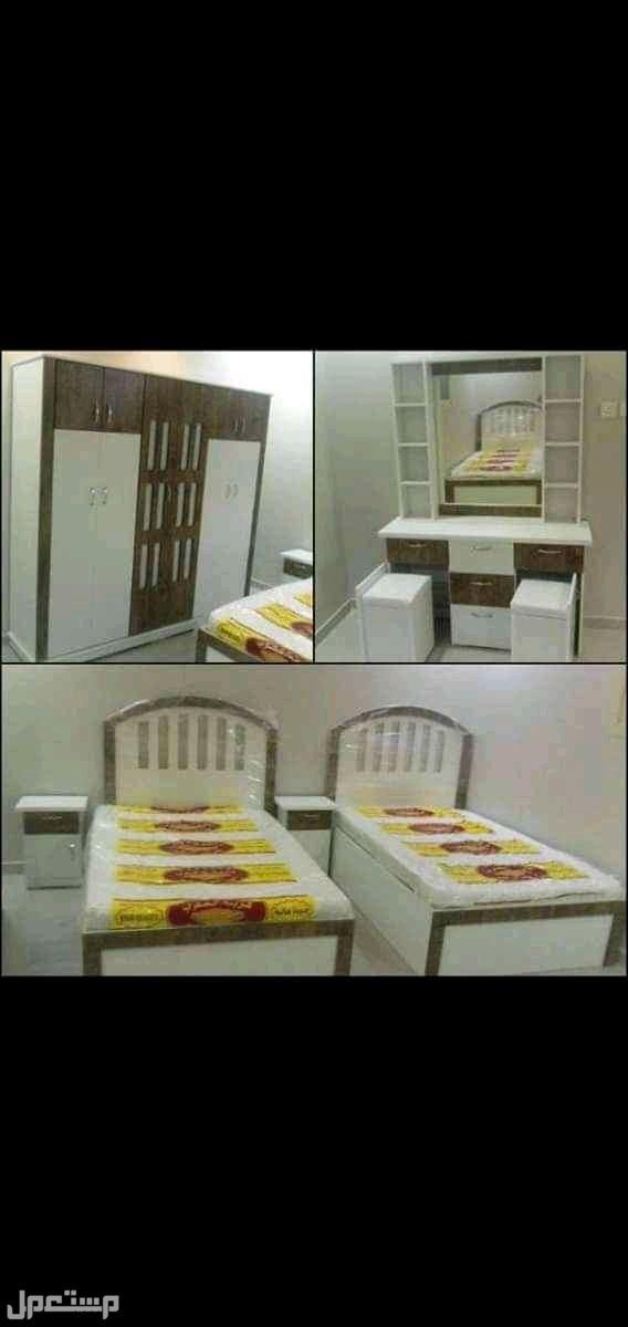 السلآم عليكم: :غرف نوم جديده 6قطع ألوان مختلفه 1900 ريال جده
