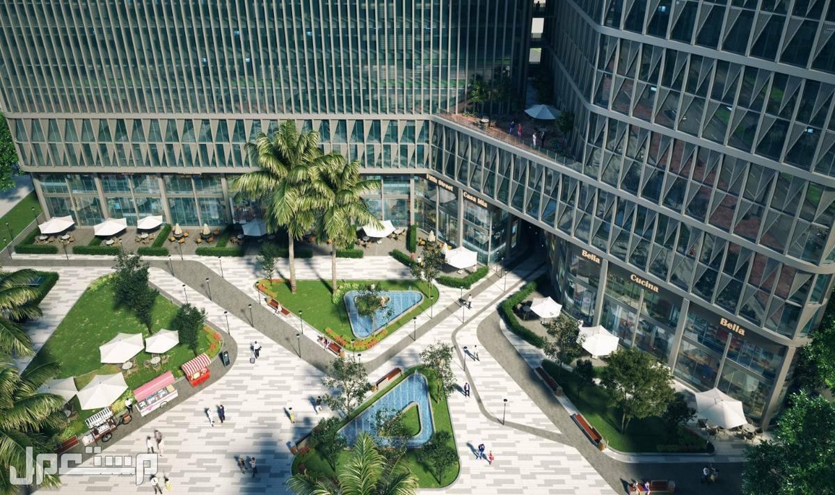 مكاتب للبيع في مصر العاصمة الادارية بقسط شهري 1800 ريال