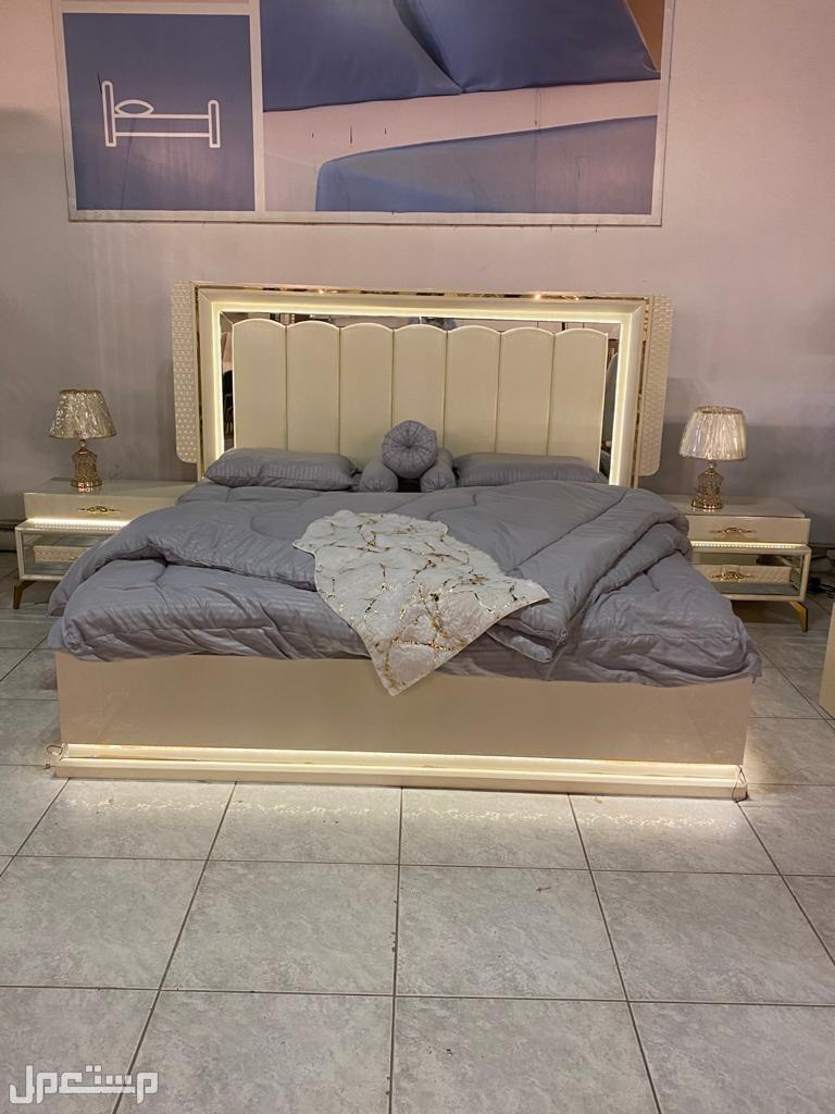 غرفة نوم بتصميم أنيق و راقي 7قطع مع مرتبة طبية هدية