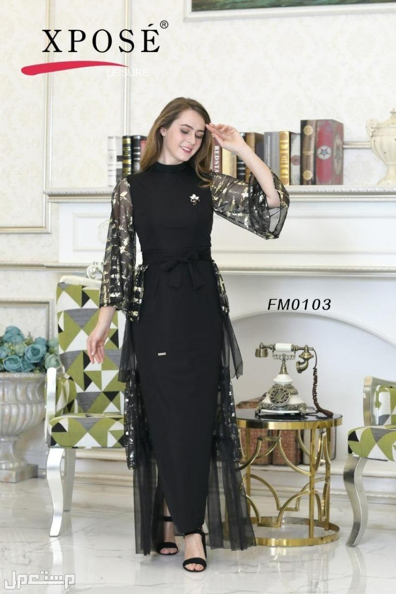 فستان نسائي انيق تصميم مميز