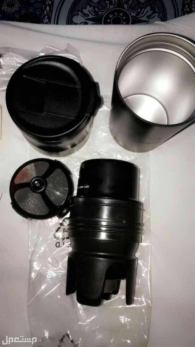 مطحنة قهوة الكترونيه مع هدية سماعة بلوتوث