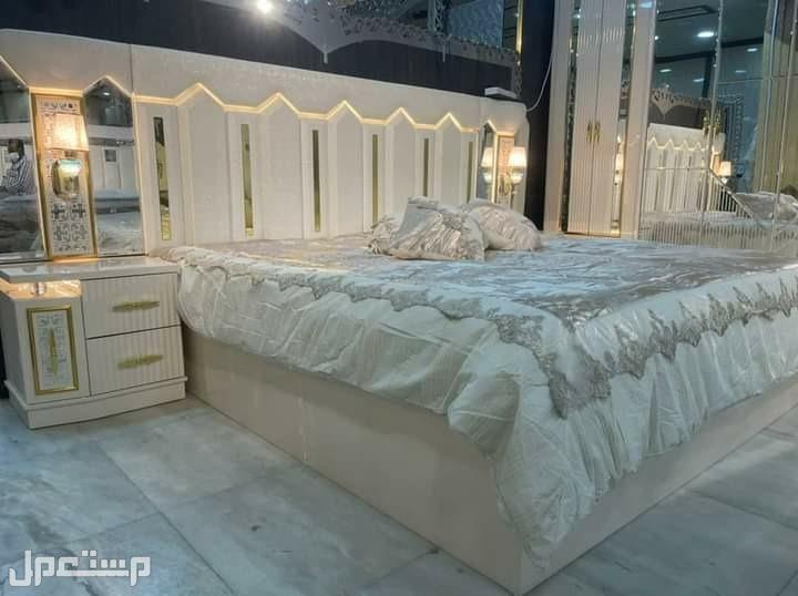 غرفة نوم ملكية كلاسيك مودرن خشب قوي درجة اولى مع مرتبة هدية