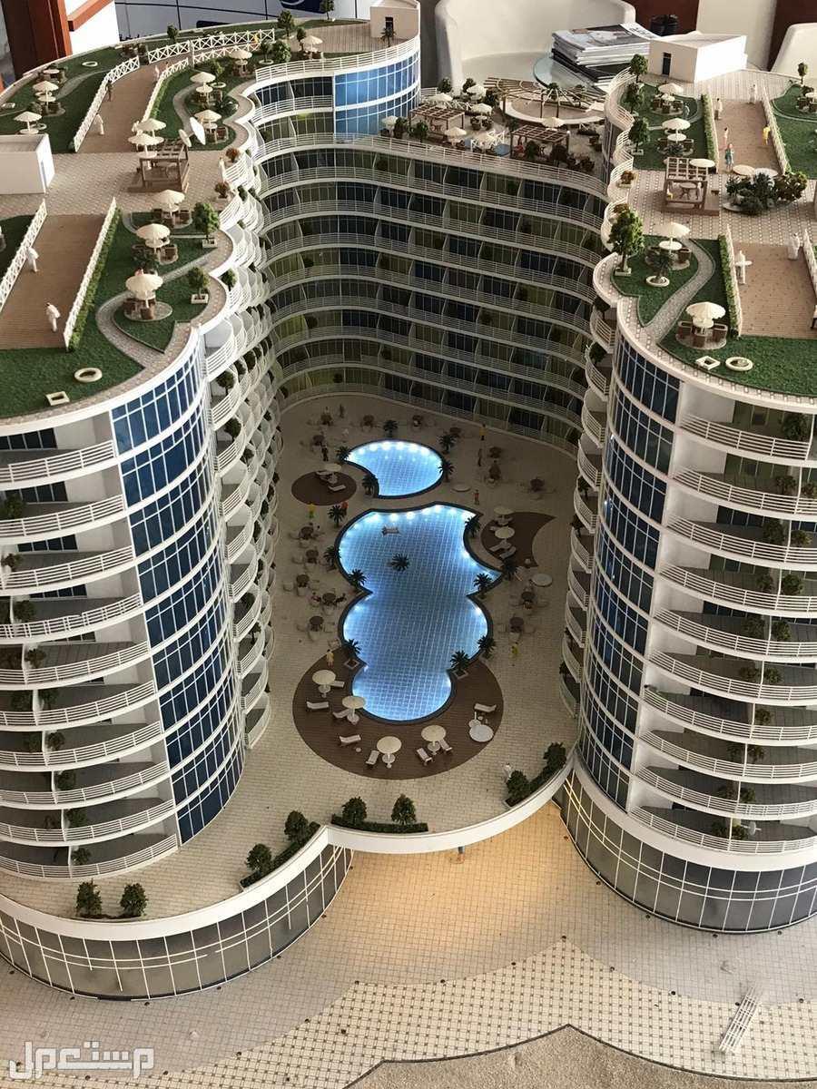 تملك الرفاهية والاستثمار مع منتجع المهرة الفندقي مجسم المشروع 1