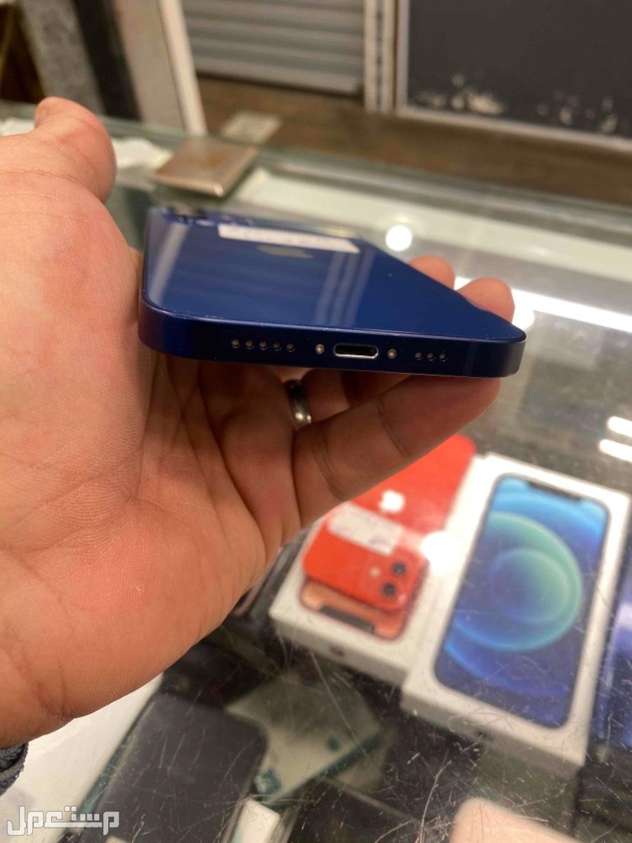 للبيع ايفون 12 ازرق 256 مستخدم