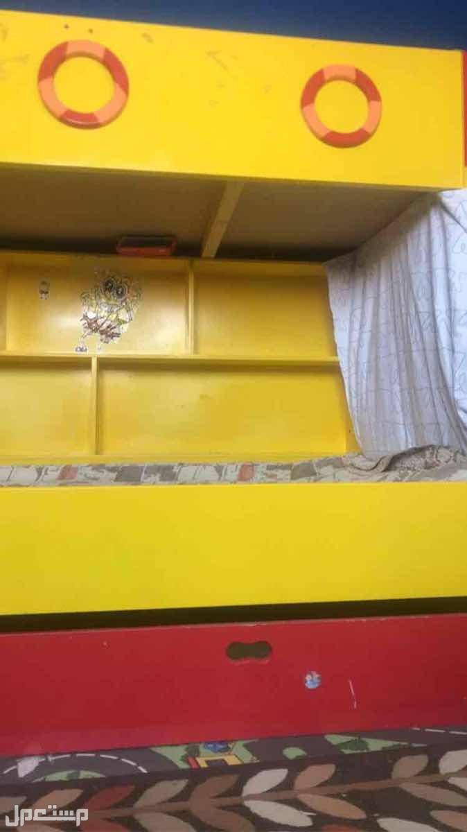 سرير اطفال ثلاث ادوار
