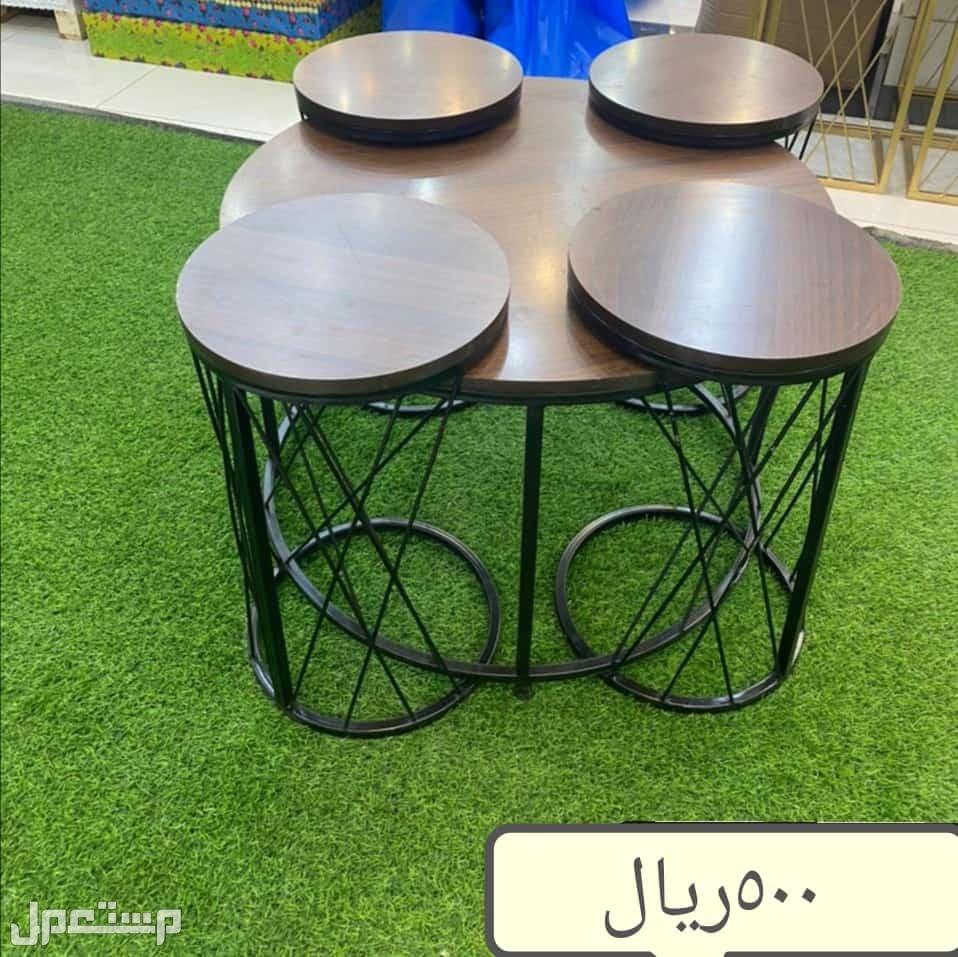 طاولات ضيافه 5 قطع
