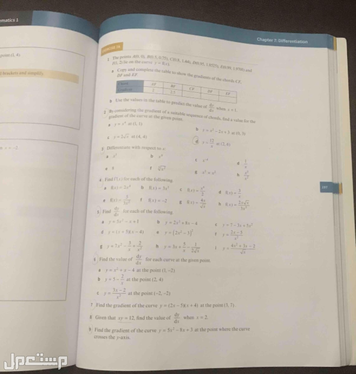 Cambridge International AS and A Level :Pure mathematical 1 Course book Use