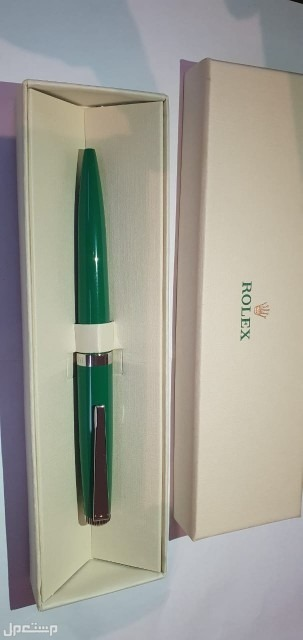 قلم روليكس اخضر اصلي  وجديد تواصل واتساب السعر على السوم