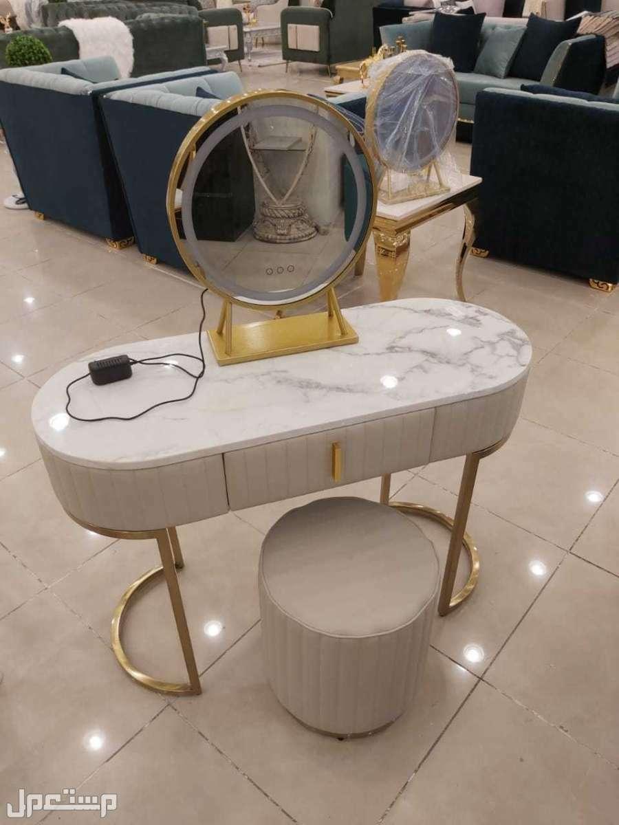 تسريحة + كرسي... جديدة بالكرتون مستورد