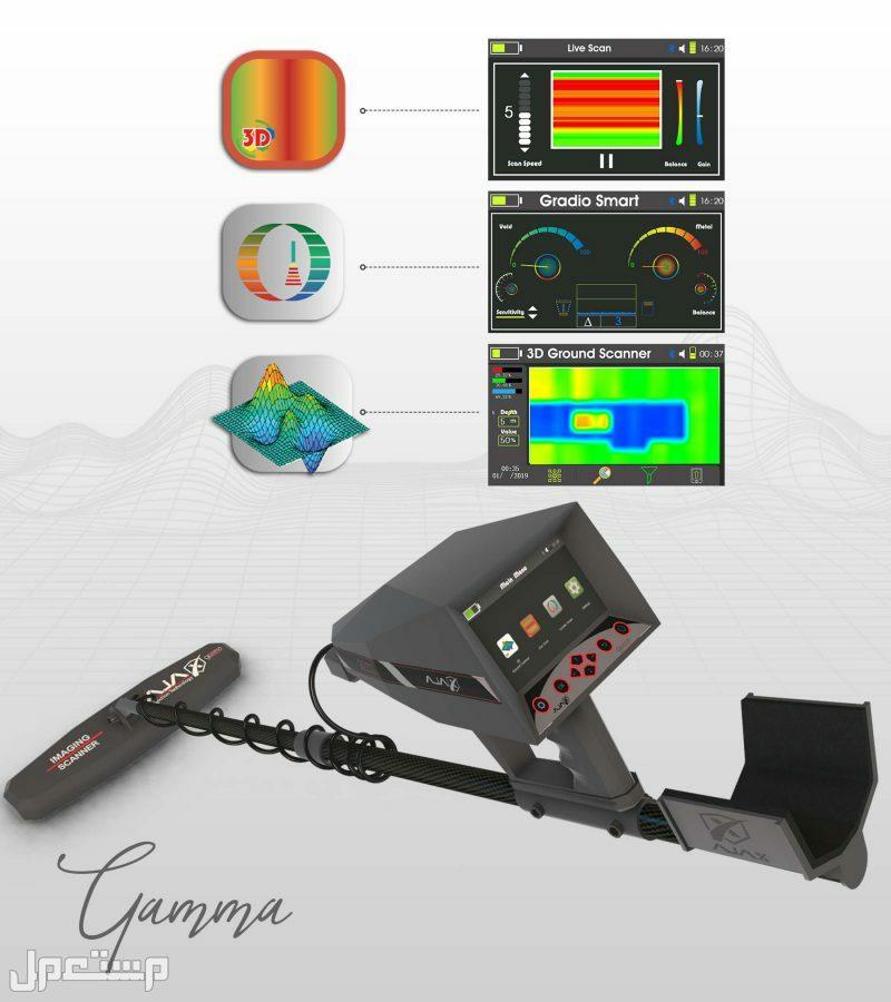 جهاز كشف الذهب والكنوز التصويري غاما AJAX GAMMA جهاز كشف الذهب التصويري غاما