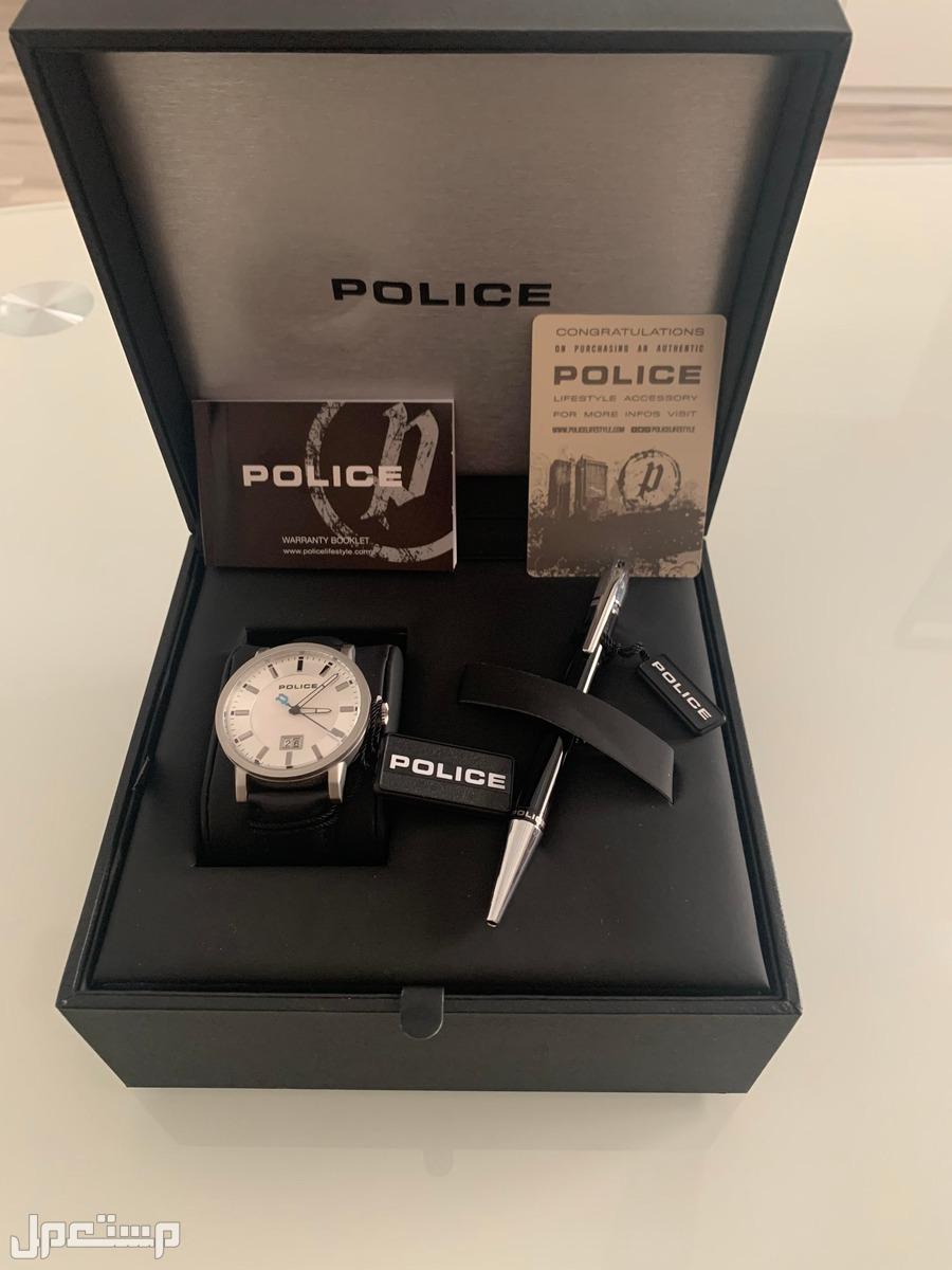 طقم ماركة بولس POLICE (ساعة و قلم)