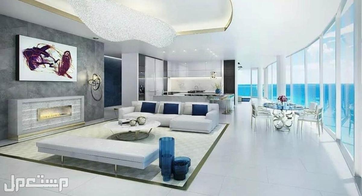 تملك الان بمنتجع المهرة الفندقي ( المشروع الاضخم والاشمل للاستثمار ) اطلالة الادوار العليا على البحر