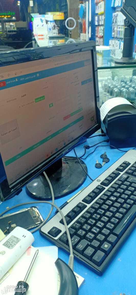 كاشير كامل اجهزة وبرنامج محاسبة كاشير محلات جوالات