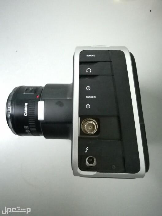 كاميرا Blackmagic 2.5k مع طقمين اضاءة وشولدر رق