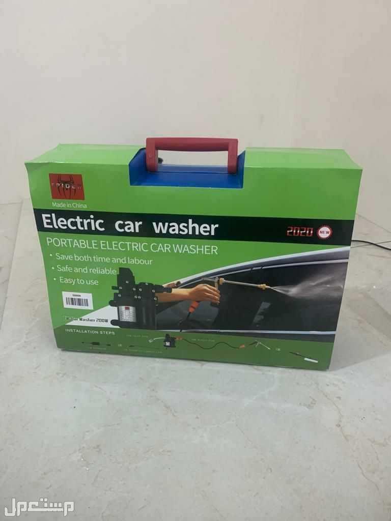 مضخة غسيل السيارات والمنزل تعمل على ولاعة السيارة 12 فولت وكهرباء المنزل