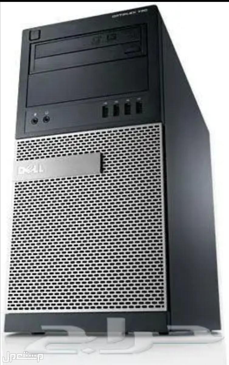 كمبيوترات مكتبى hp و dell اصلية مستعمله نظيفه ب350 ريال بالضمان