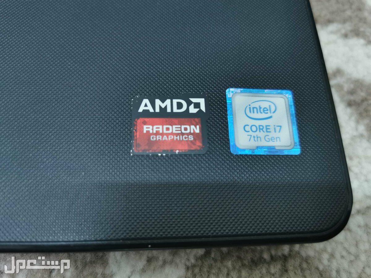 لاب توب DELL i7 كرتين شاشة FHD وندز 10 اصلي SSD-HDD