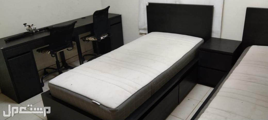 غرفة نوم وأسره نفر وفرن غاز تكنو قاز