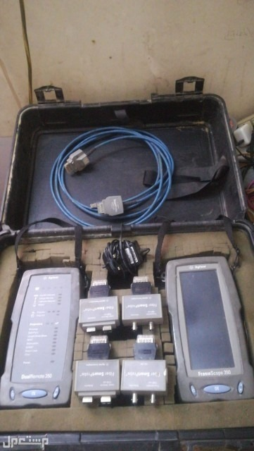 جهاز عمل اختبار للشبكات الحاسب UTP Fiber