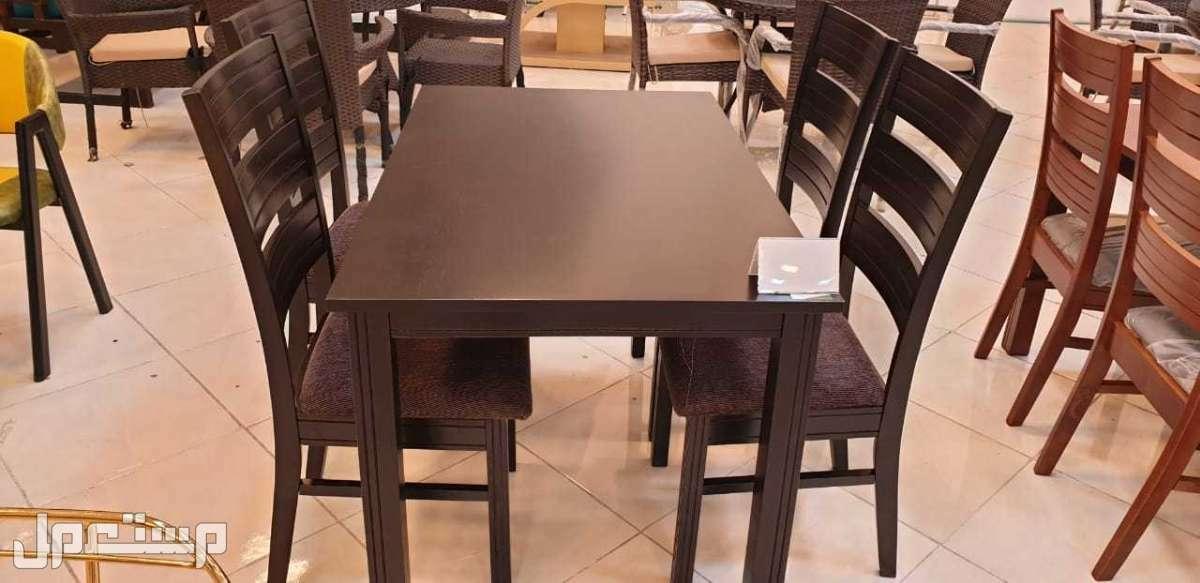 طاولة طعام خشب صناعة ماليزي