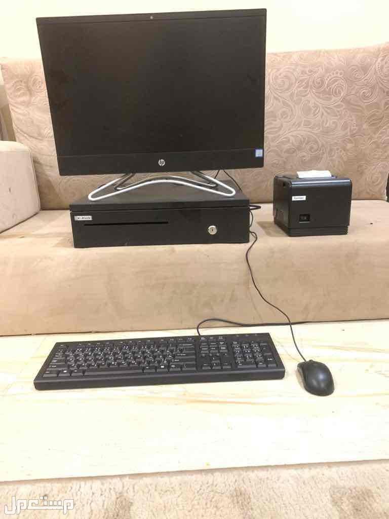 كمبيوتر كاشير مع برنامج الاصناف